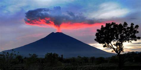 citilink gunung agung pagi gunung agung kembali erupsi kabarsumbar com
