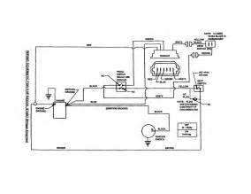 wiring schematic diagram parts list for model wm280921b snapper parts mower tractor