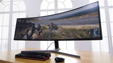 samsung s stunning 49 inch gaming monitor to be displayhdr certified extremetech