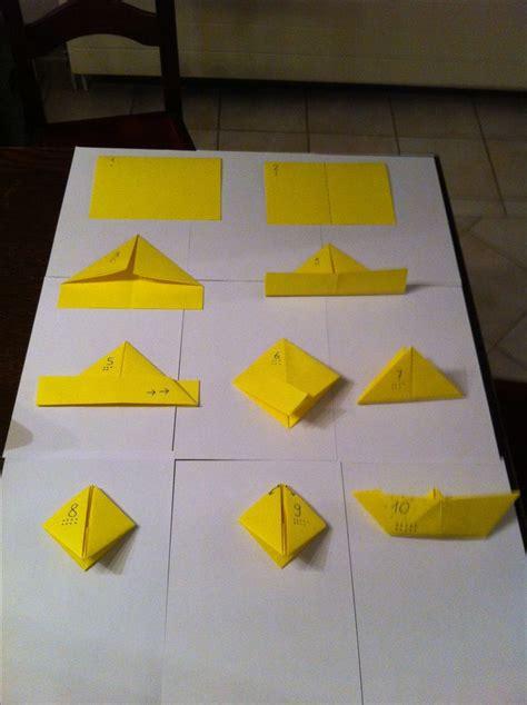 bootje in papier vouwen 25 beste idee 235 n over origami vouwen stappenplan op