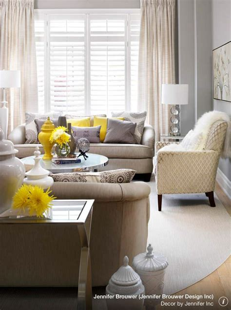Yellow Living Room Decor Gray And Yellow Living Room Decorating Ideas Pinterest