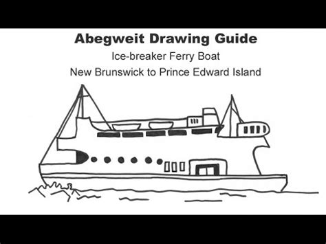 how to draw a ferry boat easy how to draw a ferry boat youtube