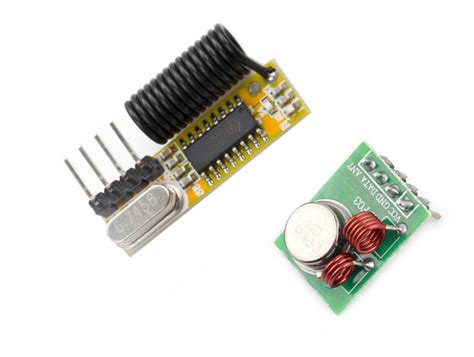 Rf Wireless Transmitter 433mhz rf link kit