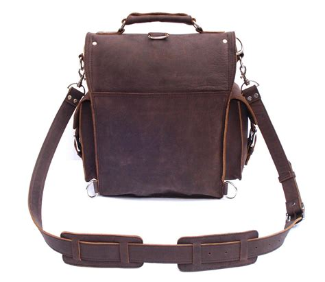 rugged laptop backpacks vintage rugged leather backpack messenger bag briefcase satchel laptop new ebay