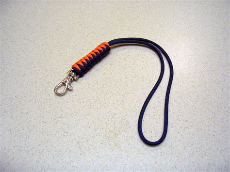 paracord lanyard paracord wrist lanyard made with the snake knot 2