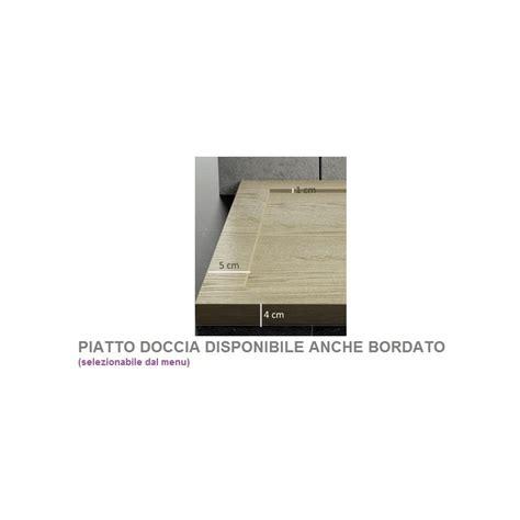 box doccia 70x90 stondato piatto doccia in pietra sintetica effetto legno 70x90 cm
