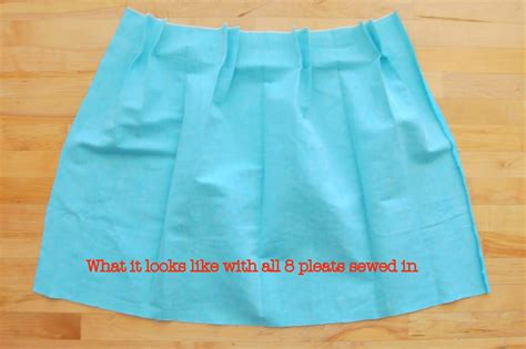 How To Make A Paper Skirt - how to make a paper bag skirt with box pleats tutorial