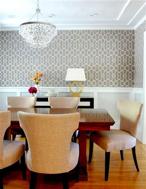 accent wall panel dining room contemporary with geometric 255 best images about dining spaces on pinterest kitchen