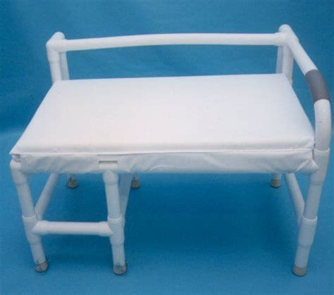 pvc bench bariatric bath transfer benches pvc healthcare supply pros