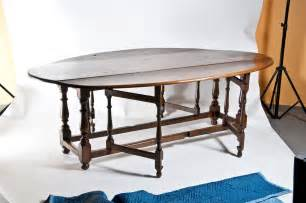 oval dining room table with leaf large vintage oval drop leaf dining table at 1stdibs