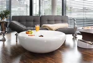 Designer Sofa salesfever couchtisch wei 223 hochglanz rund 187 strice 171 otto