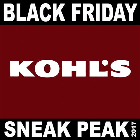 Black Friday Sweepstakes 2017 - kohl s black friday 2017 ad preview julie s freebies
