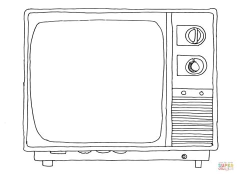 coloring pages on ipad old sytle tv coloring page free printable coloring pages