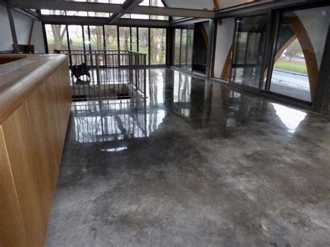 this polished concrete floor leeds looks awesome
