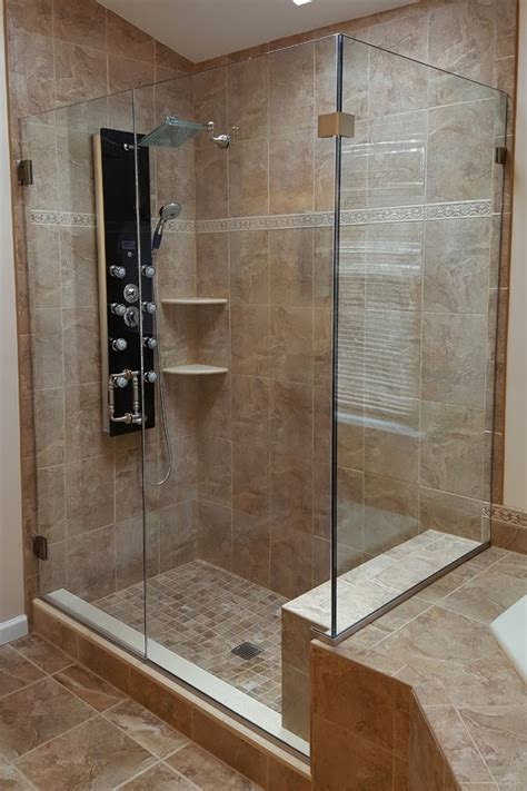corner shower doors frameless corner enclosures shower door experts