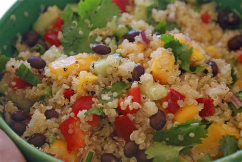 quinoa salad recipes green bean black quinoa salad recipe dishmaps