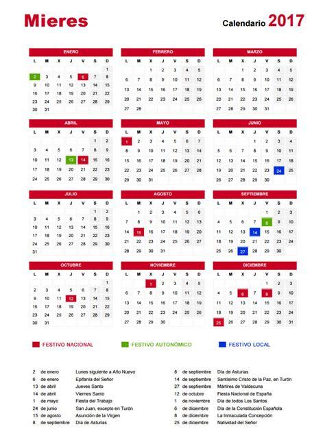 Calendario Semana Santa 2017 191 Cu 225 Ndo Cae Semana Santa Vacaciones Y Festivos En Mieres