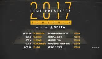 lakers home schedule lakers release 2017 18 preseason schedule los angeles lakers