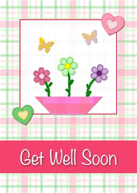 well cards printable get well cards