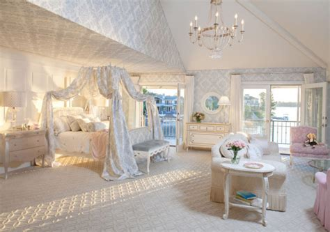 Light Blue Silk Curtains by Canopy Beds 40 Stunning Bedrooms