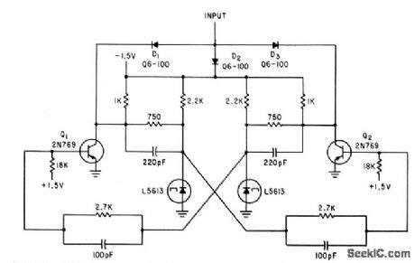 tunnel diode flip flop tunnel diode flip flop 28 images temporary memory circuit circuit diagram seekic