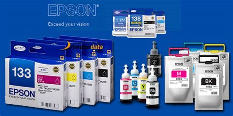 Tinta Warna Printer Epson daftar harga tinta cartridge printer epson original