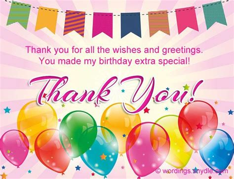 Thanks Quotes For Birthday Gift 25 Best Ideas About Birthday Thank You Message On