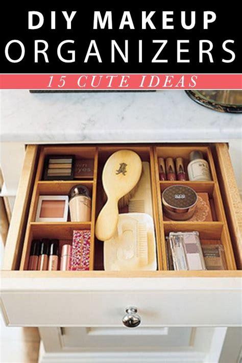 diy drawer organizer for makeup makeup organizer