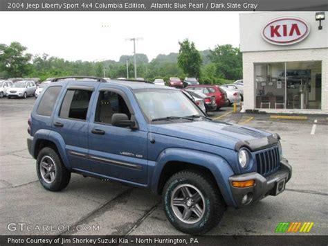 2004 Jeep Grand Liberty Edition Atlantic Blue Pearl 2004 Jeep Liberty Sport 4x4 Columbia
