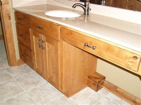 Knotty Alder Bathroom Vanity Bathroom Vanity Knotty Alder Cabinets