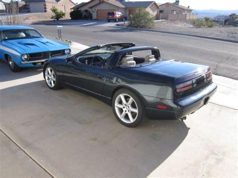 nissan convertible black 1994 nissan 300 zx convertible black emerald w