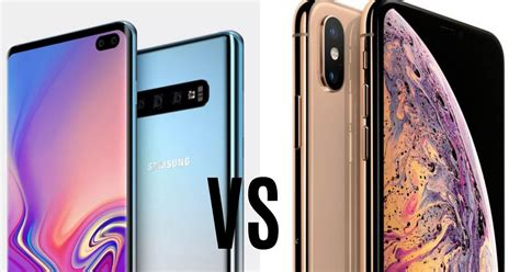 Samsung Galaxy S10 91mobiles by Samsung Galaxy S10 Vs Iphone Xs Max Price In India Specifications Compared 91mobiles