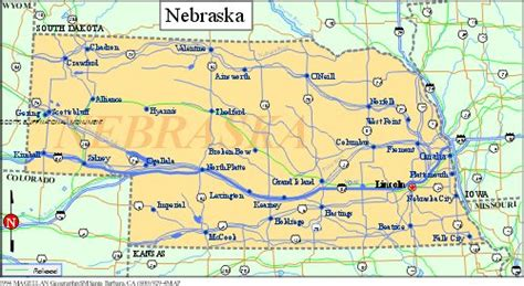 road map of nebraska usa nebraska powder coating customcoaters
