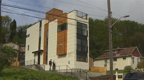 the skinny house seattle quot skinny house quot hits the market for 700k kutv