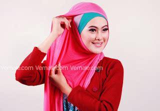 Kerudung Pashmina Hijaber Hijabers Jilbab cara memakai pashmina