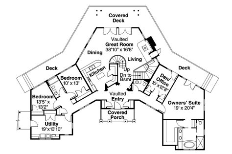 Houzz Homes Floor Plans by Craftsman House Plans Crestview 10 532 Associated Designs