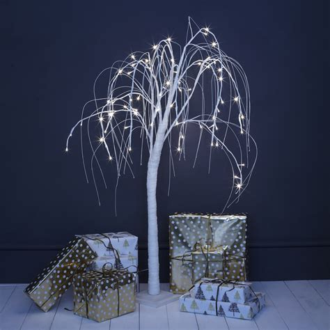 indoor tree with lights white willow indoor led tree primrose plum