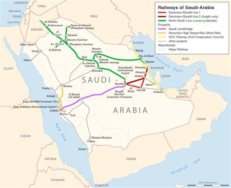 arabia map file rail transport map of saudi arabia png wikimedia