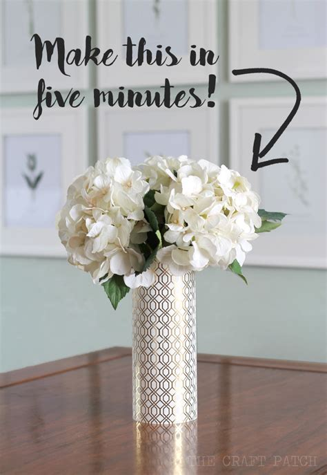 Online Home Decor Store the craft patch diy geometric metallic vase