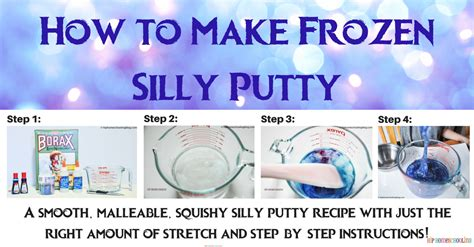 how to make silly putty that actually works