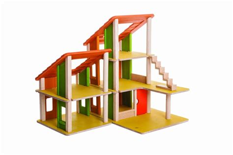 plan toy chalet doll house with furniture plan toys chalet dollhouse without furniture free shipping