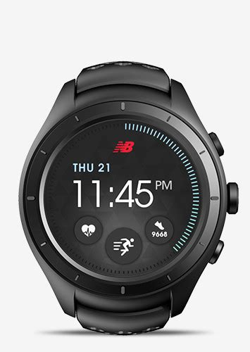 New Balance Runiq Android Wear 2 0 Smartwatch android wear