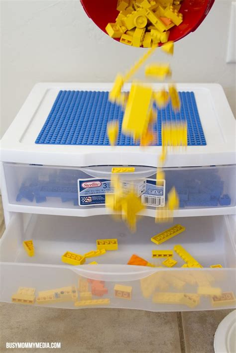 diy lego table with drawers easy diy lego table