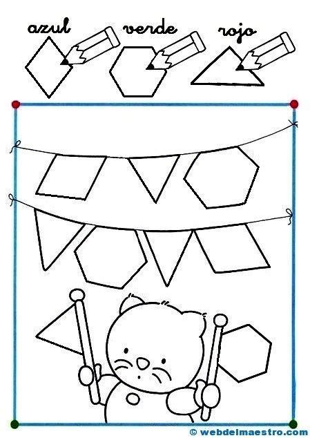Web Del Maestro Figuras Geometricas | dibujos con figuras geom 233 tricas 2 web del maestro