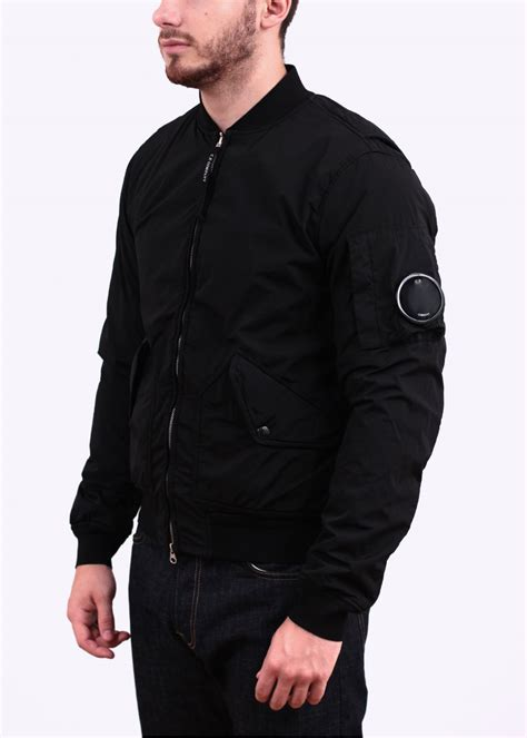 Attention Bomber Grey By Dn2group cp company nycra ma 1 zip bomber jacket black