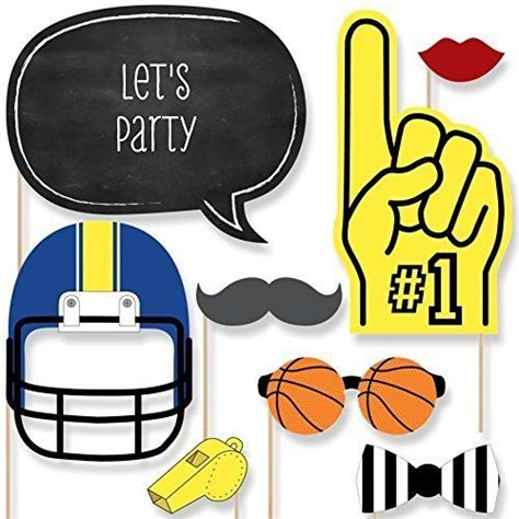 printable hockey photo booth props 52 best all bout party ideas themes hockey images on