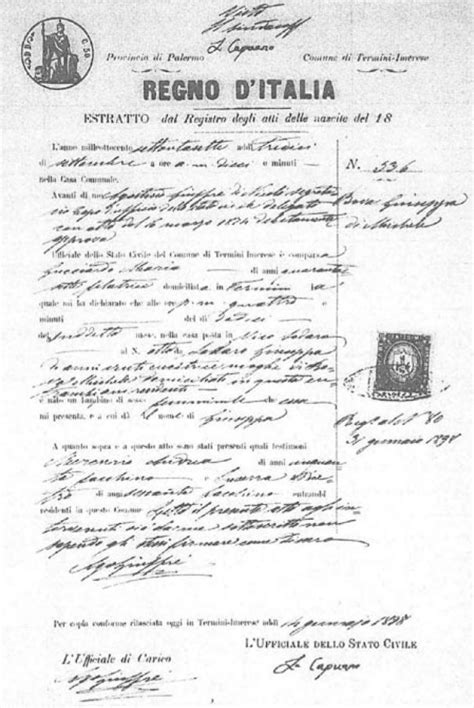 Palermo Sicily Birth Records 31 Best Italy Images On Family Trees Crests And Family History