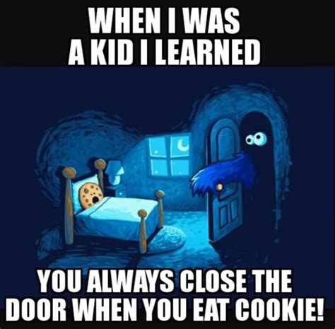When I Was A Kid Meme - 29 very funny cookie memes gifs jokes graphics images