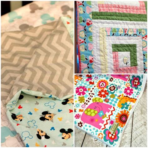 Sew Baby Quilt by How To Make A Baby Blanket 10 Baby Blanket Patterns For