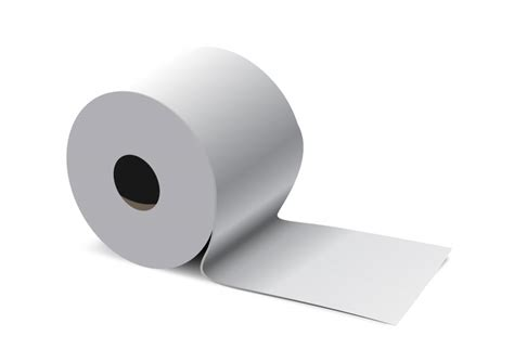 Why Did They Stop Colored Toilet Paper - toilet paper vector illustration